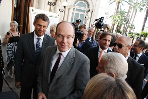 Anche il Principe Alberto II al compleanno di Shimon Peres a Gerusalemme