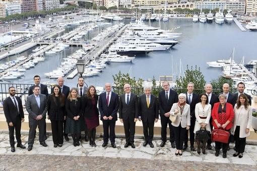 Una delegazione dell'Unione Europea in visita a Monaco