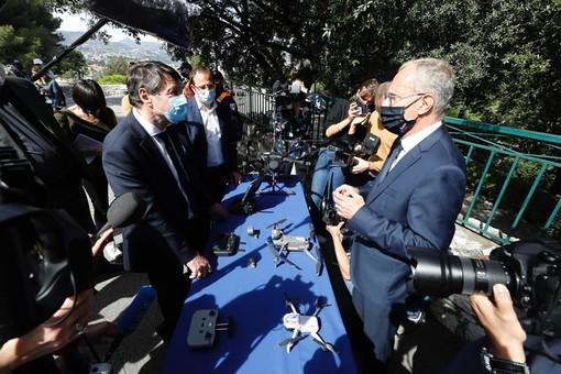 I droni in dotazione alla Polizia Municipale di Nizza