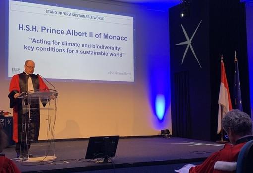 Laurea Honoris Causa per il Principe Alberto II di Monaco da ESCP