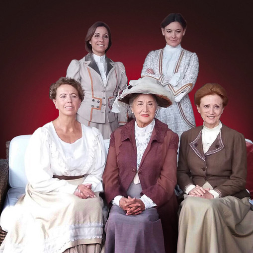 Tutte a casa, la Guerra delle Donne spettacolo teatrale tutto al femminile