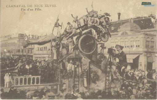 Cartolina tratta dal sito degli Archives Nice Côte d'Azur