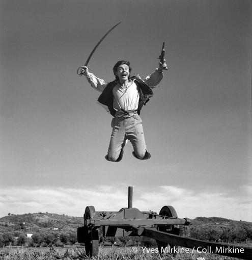 Gérard Philipe dans Fanfan la Tulipe (Christian Jaque, 1952) ©Yves Mirkine / Coll. Mirkine