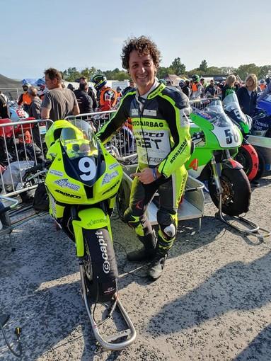 Motociclismo: Francesco Curinga è tornato sull'Isola di Man