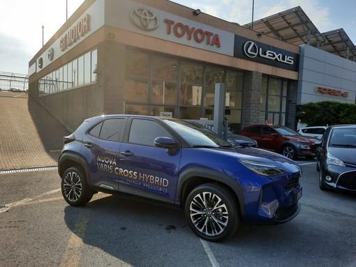 Sabato 11 settembre e domenica 12 settembre GT Motor ad Arma di Taggia vi aspetta per l'open week-end di lancio della Nuova Toyota Yaris Cross Hybrid