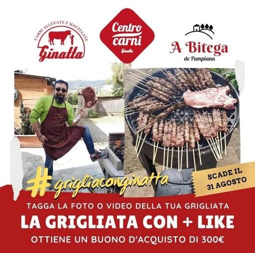 Il nuovo hashtag dell'estate 2021 è firmato Ginatta! #grigliaconginatta