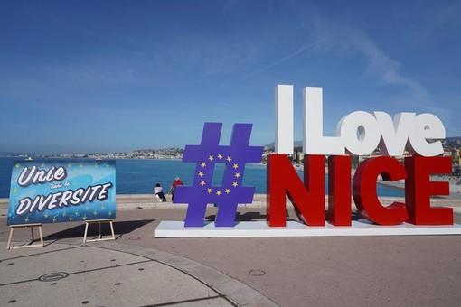 I colori di Nizza per la Festa dell'Europa 2021
