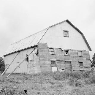 Gilles Pourtier, Grange de Station Laurier à Pontbriand