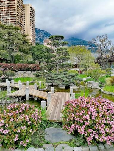 Il Giardino Giapponese del Principato di Monaco, fotografie di Luisella Cappio