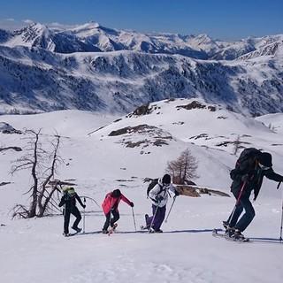 Ski-rando ad Isola 2000