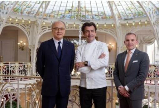 Jean-Luc Biamonti, Yannick Alléno, Louis Starck
