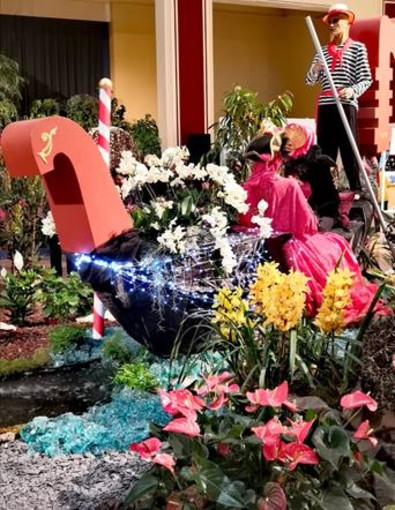 Festival delle Orchidee, Menton. Fotografie di Luisella Cappio