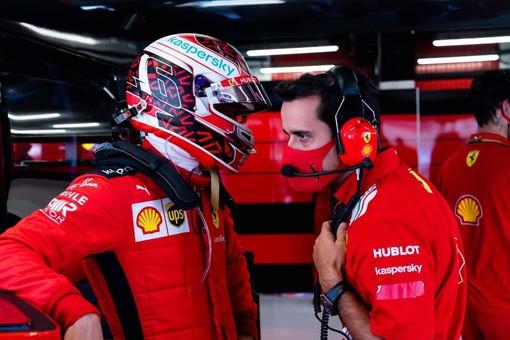 Formula 1. Rosso ancora opaco per la Ferrari nelle qualifiche di Spagna, nono il monegasco Leclerc