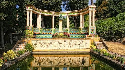 Le Jardin Fontana Rosa (sito ville de Menton)