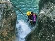 Foto 5: Immergersi nelle fresche e cristalline acque del Canyon de l'Imberguet