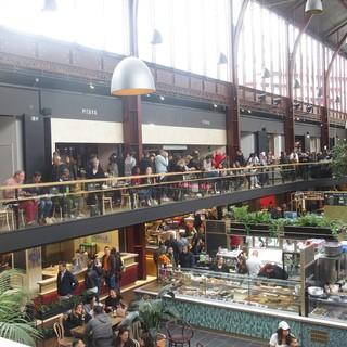 La Halle della Gare du Sud il giorno dell'inaugurazione