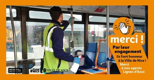 Bus e tram: le norme di comportamento. Gli spostamenti su Lignes d'Azur sono gratuiti, ma…