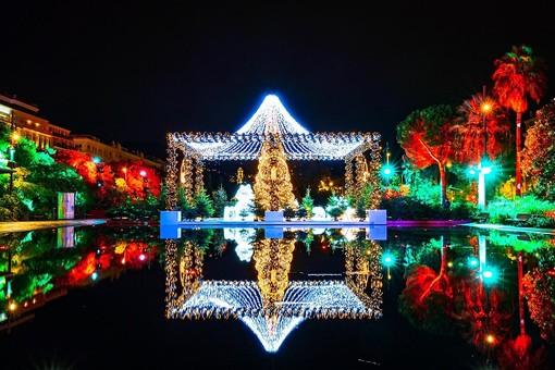 Le luminarie natalizie di Nizza  @Ville de Nice