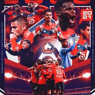 Ligue 1, l'ultima giornata incorona il Lille campione di Francia