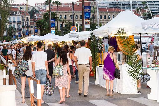 Cannes, les nocturnes, Quai St Pierre