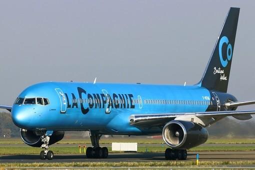 Un aereo de La Compagnie