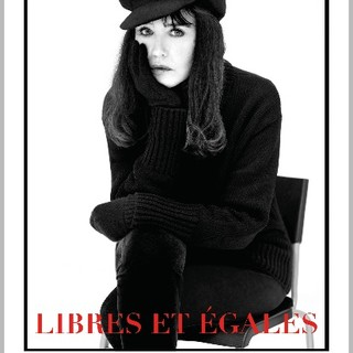 "Il manifesto della mostra ""Libres et égales"""