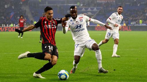 Lione - OGC Nice una fase di gioco (foto tratta dal sito dell'OGC Nice)