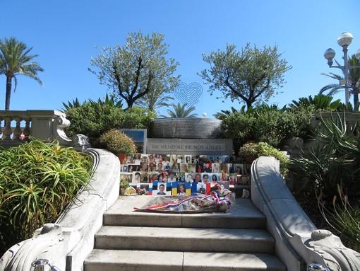 Memoriale della strage nei giardini di Villa Massena