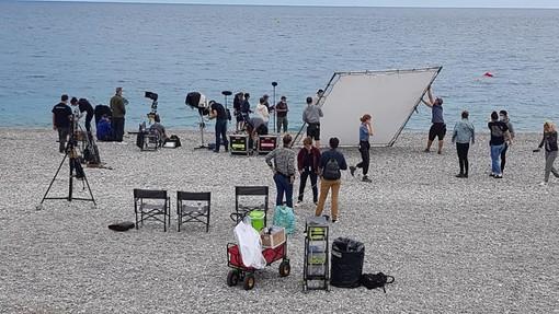 "Si sta girando il film ""Menteur"", fotografie di Ghjuvan Pasquale"