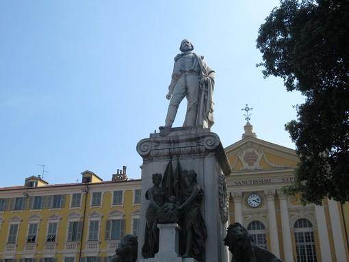 Il Monumento a Giuseppe Garibaldi a Nizza