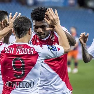 Montpellier - Monaco, una fase di gioco (foto tratta da un sito dell'AS Monaco)