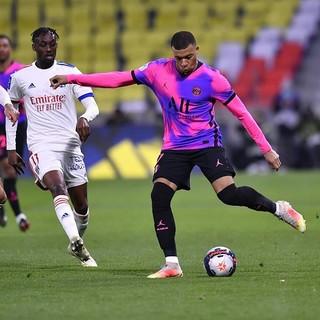 Mbappe, capocanniere di Ligue 1 (foto tratta dal sito del Paris Saint Germain)