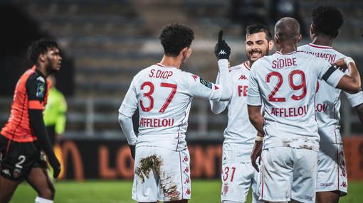 Monaco - Angers, una fase di gioco (foto tratta dal sito dell'AS Monaco)