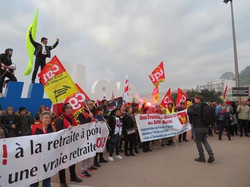 Una manifestazione a Nizza