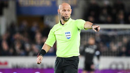 Amaury Delerue, arbitro internazionale, dirigerà sabato il derby tra Nizza e Monaco (foto tratta dal sito dell'OGC Nice)