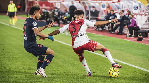Monaco - Paris Saint Germain, una fase di gioco (foto tratta dal sito del Monaco)