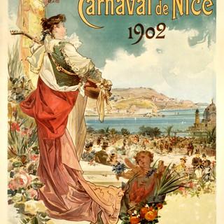 Alcuni manifesti del Carnevale di Nizza
