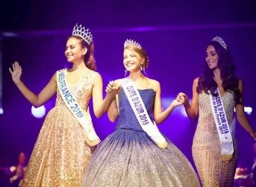 Manelle Souahlia Miss Côte d'Azur 2019 (Twitter)