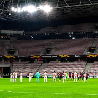 Il Nizza stasera in campo con lo Slavia di Praga (foto tratta dal sito dell'OGC Nice)