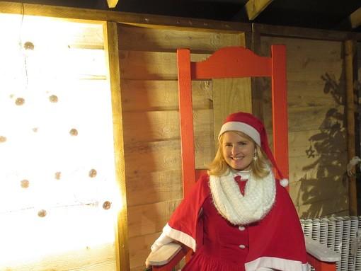 Casa di Babbo Natale nel Villaggio di Nizza