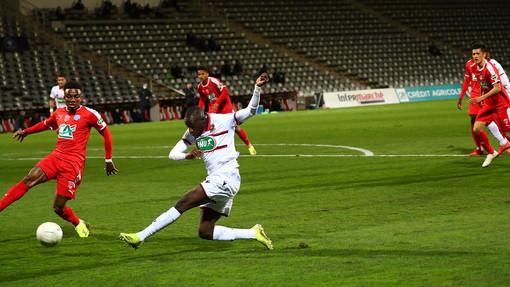 Nimes - Nizza, una fase di Coppa di Francia (foto tratta dal sito dell'OGC Nice)