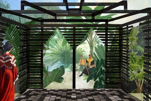 Nizza, Le jardin de l'orientaliste