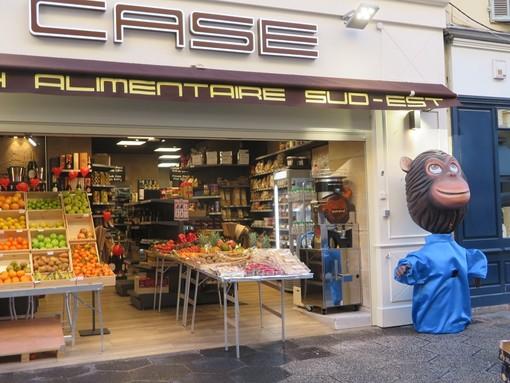 Un negozio sulla pietonne a Nizza