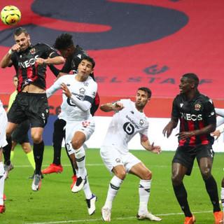 Nizza - Lille, una fase di gioco (foto tratta dal sito dell'OGC Nice)