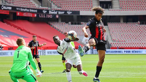 Nizza - Montpellier, una fase di gioco (foto tratta dal sito dell'OGC Nice)