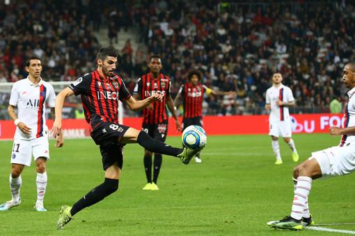 Nice - Paris Saint Germain, una fase dell'incontro di andata (foto tratta dal sito dell'OGC Nice)