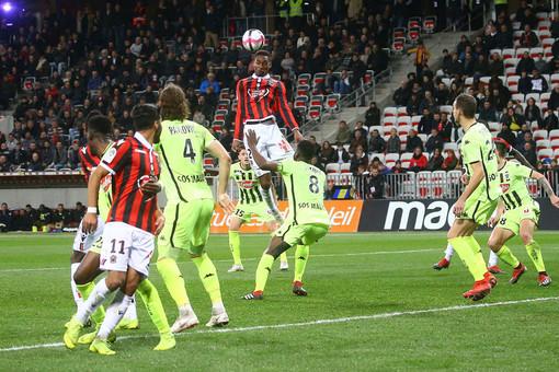 Nizza - Angers all'andata (foto tratta dal sito dell'OGC Nice)