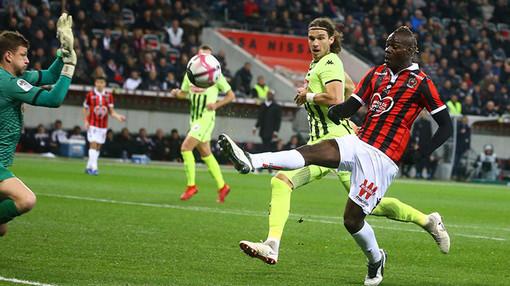 Nice - Angers, un fase di gioco (foto tratta dal sito dell'OGC Nice)