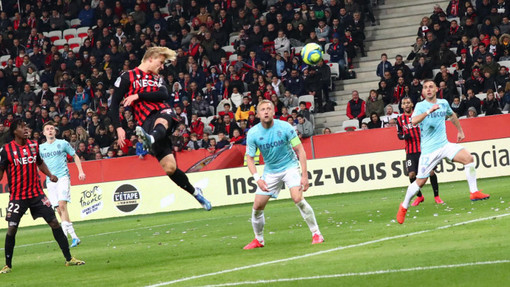 Nizza - Monaco, una fase di gioco (foto tratta dal sito dell'OGC Nice)