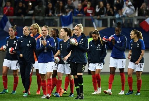 La Nazionale francese di calcio femminile (foto tratta dal sito della Fédération Française de Football)